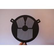 Máscara de enfoque de Bahtinov 150mm. Aluminio 1,5mm.