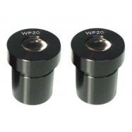 Oculares para microscopio WF20, 2 unidades