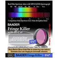 """Filtro Fringe Killer 1,25"""" Baader reductor cromatismo"""