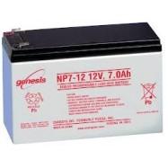 """Oportunidad batería recargable de 12V 7.0Ah NP7-12. 250 """"D."""