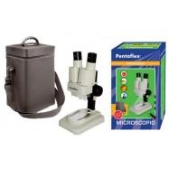 Microscopio binocular 20x Pentaflex iniciación