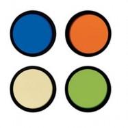 Set 4 filtros color Meade 8,21, 31A, 56