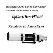 Tubo ED 80 Skywatcher Refactor APO.