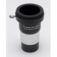 """Lente de barlow 2X Con rosca T2. GSO. 1,25"""" (visual y foto)"""