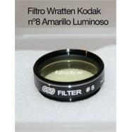 Filtro amarillo luminoso 8 Wratten Kodak GSO