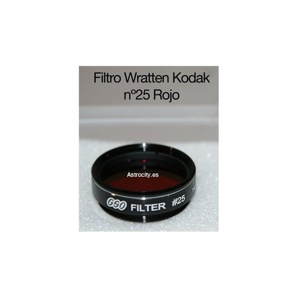 Filtro para telescopios Color Rojo Oscuro Explore Scientific 29 1,25