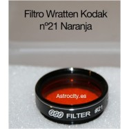 Filtro naranja 21 Wratten Kodak GSO