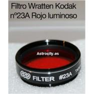 Filtro rojo luminoso 23A wratten kodak GSO
