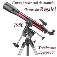 Telescopio 70/700 Con curso de regalo!