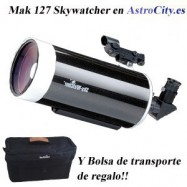 Tubo óptico Mak 127/1500 Black Diamond óptica Scoch. Skywatcher