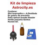 Kit de limpieza óptica Astrocity