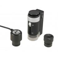 Microscopio óptico y digital de bolsillo 44306