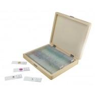 Caja de 100 preparaciones microscópicas44412
