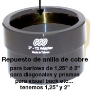 """Repuesto anilla cobre diagonales y barlows 1,25"""" o 2"""""""