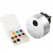 MiniCAM5 con filtros L, R, G, B, Black, Ha, OIII, SII y Hb