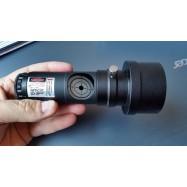 "Colimador láser para telescopio luz regulable para 1,25"" y 2"""