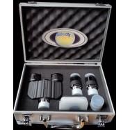 Maletín cabezal binocular profesional. 6 accesorios