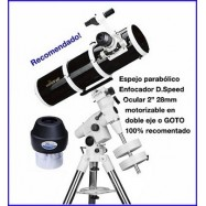 Telescopio 150/750 Dual Speed NEQ3-2 Skywatcher