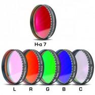 "Set 6 filtros Baader CCD 2"""