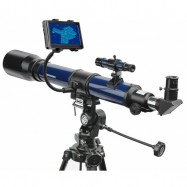 Telescopio refractor 70/700 AZ Bresser con adaptador para Smartphone
