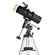 Newton 114/500 EQ Pluto Bresser con adaptador para móvil y filtro solar