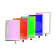 Set filtros LRGBC para CCD 65x65mm