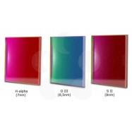 Set 3 filtros Baader Narrowband 65x65 mm