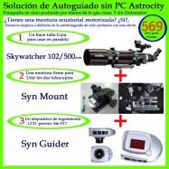 Solución de Autoguiado sin PC. SW102/500 + SynMount + SynGuider