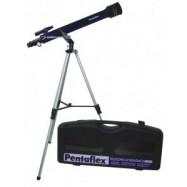 Telescopio pentaflex 60/700 AZ. Iniciación, con accesorios y estuche