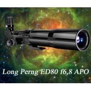 Tubo óptico Longperng Fluorita 80mm f/6,8 ED Apocromático OTA