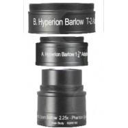 Lente Barlow 2,25x especial Hyperion Zoom (sólo Hyperion zoom)