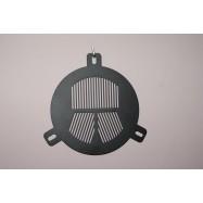 Máscara de enfoque de Bahtinov 90mm. Aluminio 1,5mm.