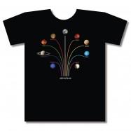 Camiseta sistema solar Astrocity.es