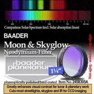 Filtro Neodymium & IR-Cut 1,25 Baader Planetarium