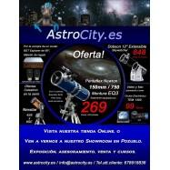 Ofertas material astronómico primavera-verano 2012