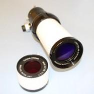 Telescopio solar LUNT con filtro doble Stack de 50mm B600 con enfocador Crayford