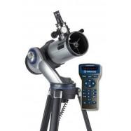 Telescopio GOTO Meade StarNavigator 114mm. Te cuenta lo que ves!
