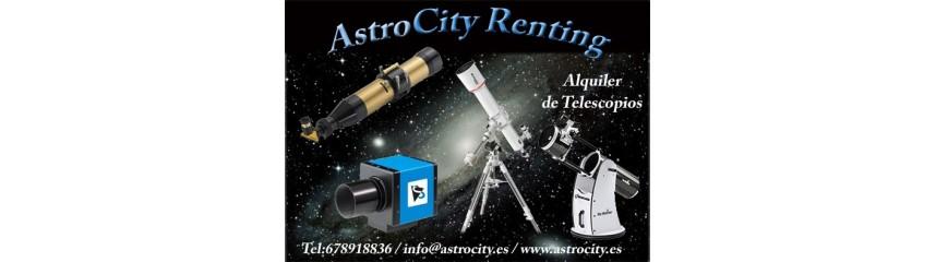 Alquiler de telescopios