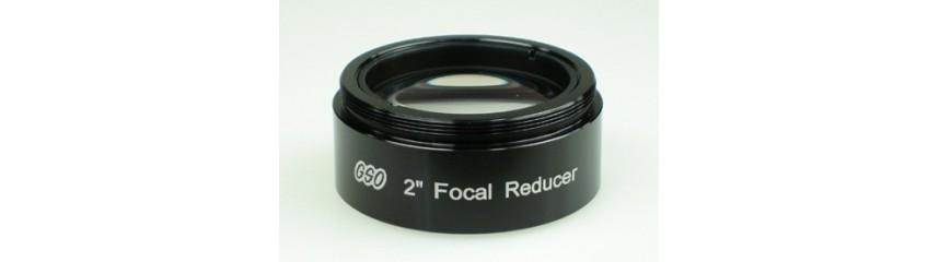 Reductores de focal para telescopios
