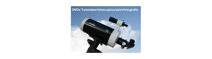 DVD Telescopios y técnicas