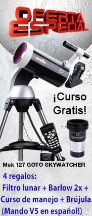Oferta Telescopio Mak 127 GOTO